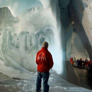 Monde du géant de glace de Vollererhof