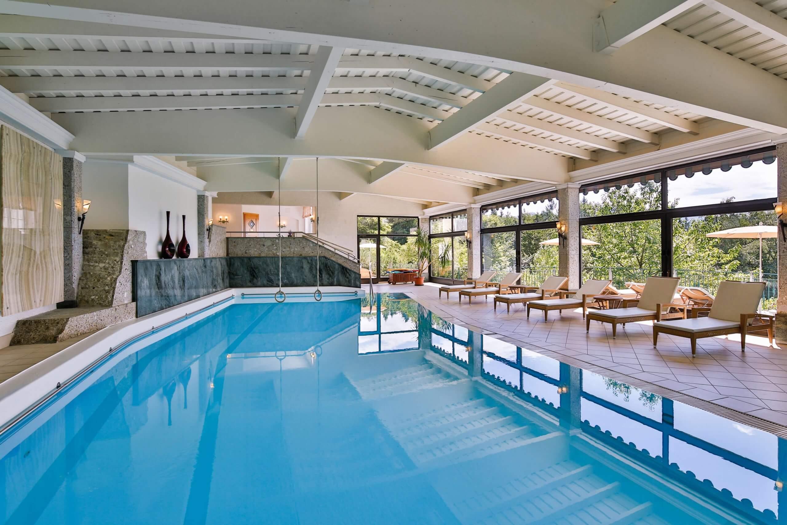 Крытый бассейн Vollererhof