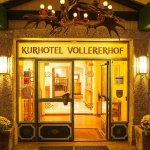 Entrada del hotel Vollererhof